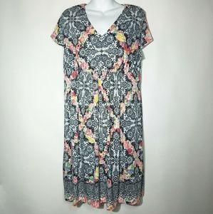 Soma Floral Dress Sz XL